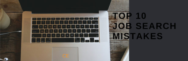 Top 10 Job Search Mistakes