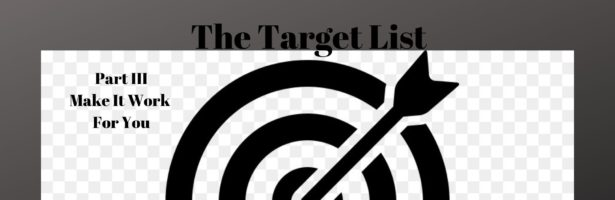 The Target List Part III